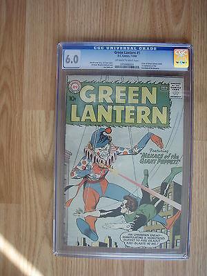 GREEN LANTERN  1 COMIC BOOK      FINE 60      CGC GRADED     781960