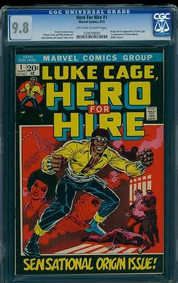 Luke cage hero for Hire 1 CGC 98 NEED I SAY MORE