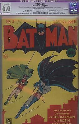 Batman 1940 issue 1 Golden Age DC  CGC 60