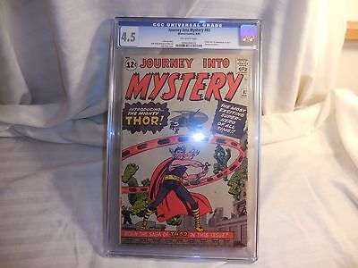 Journey Into Mystery 83 862 CGC Graded to 45 1ST Thor