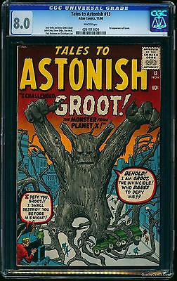 Tales To Astonish 13 CGC VF 80 OffWhite   giant ant man hulk