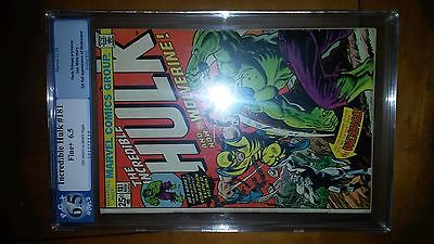 The Incredible Hulk 181 PGX CGC 65 First Full Wolverine Appearance MVS complete