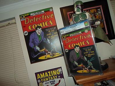 1942 Detective Comics Batman Issue  69 Comic CGC 45 BEST JOKER COVER EVER