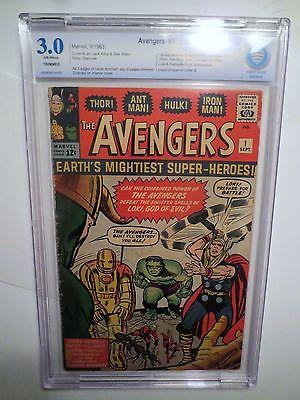 AVENGERS  1 CBCS 30  not cgc Read Label HOT BOOK Thor Iron Man Hulk