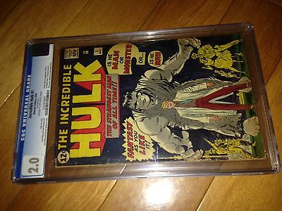 The Incredible Hulk 1 comic CGC 20  NO RESERVE  MARVELs Hottest Comic