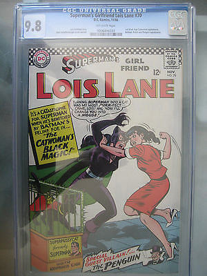 Supermans Girlfriend Lois Lane 70 CGC 98 1st Catwoman Silver Age Batman