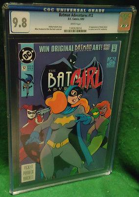 Batman Adventures 12 CGC 98 DC Key 1st Harley Quinn
