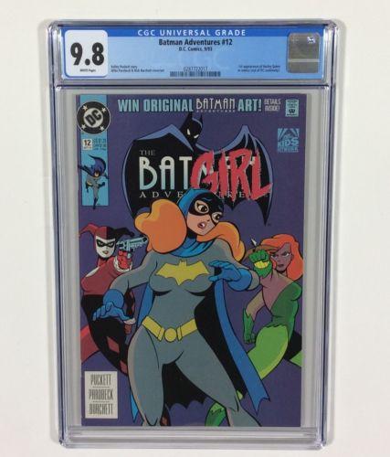 Batman Adventures 12 KEY CGC 98 WHITE Pages 1st Harley Quinn DC Comics