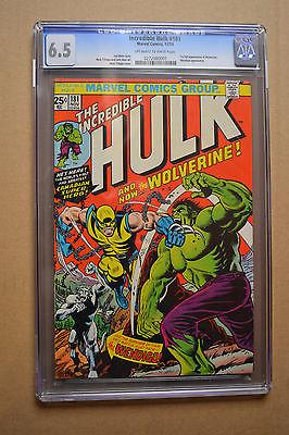 CGC Universal 65 Hulk 181 1st Full Appearance of Wolverine