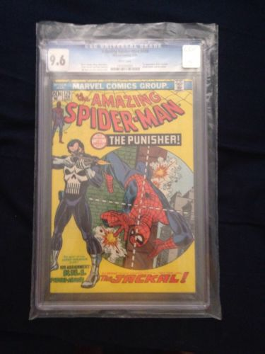 The Amazing SpiderMan 129 Feb 1974 Marvel CGC 96  First Punisher