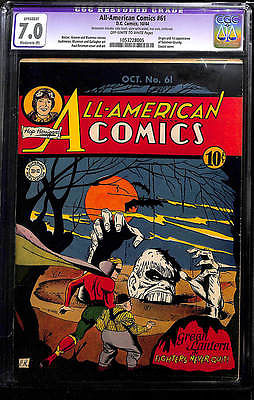 ALLAMERICAN COMICS 61 CGC GREEN LANTERN 1 COMIC 1ST SOLOMON GRUNDY SUPERMAN