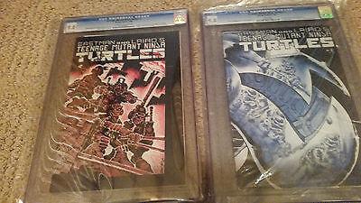 Teenage Mutant Ninja Turtles Mirage Original Prtinting 1 and 2 CGC