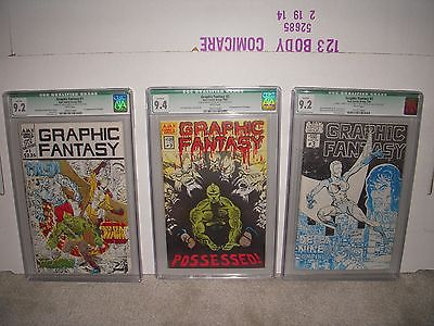 GRAPHIC FANTASY 123  SAVAGE DRAGON AJAX COMICS CGC 9294  ERIK LARSEN
