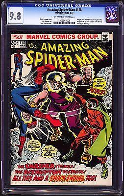 Amazing SpiderMan 118 Marvel 1973 CGC 98 NMMT  HIGHEST 112