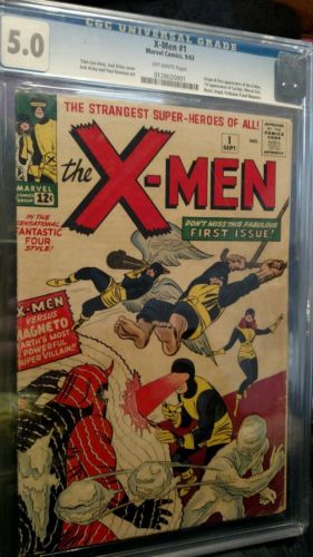 XMen 1 50 graded CGC classic Jack Kirby cover