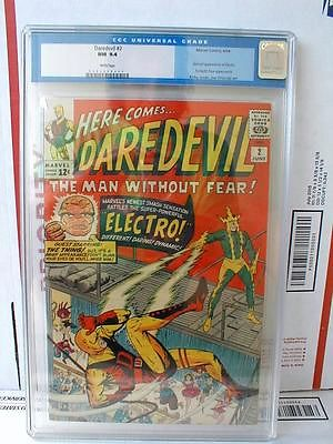 DAREDEVIL 2 CGC 94 WHITE PAGES 2ND APP DD AND 2ND APP ELECTRO