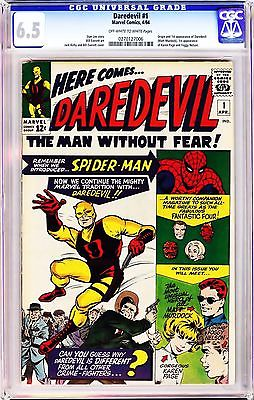 DAREDEVIL 1 STAN LEE 1964 CGC 65 OWW 1st Appearance of Daredevil NETFLIX