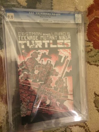 Teenage Mutant Ninja Turtles 1 Full Set 162 TMNT All Cgc Graded