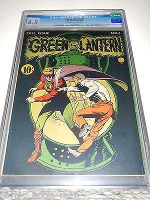 Green Lantern 1 CGC 65  DC 1941 Golden Age  Key Issue  High Grade  RARE