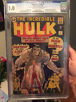 HULK 1 CGC 10 INCREDIBLE EYE APPEAL