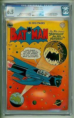 BATMAN 59 CGC 65 1950 FIRST DEADSHOT
