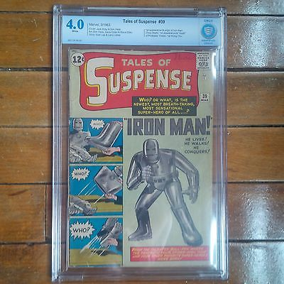 Tales Of Suspense 39 CBCS 40 VG Just Like CGC  1st Appearance of Iron Man