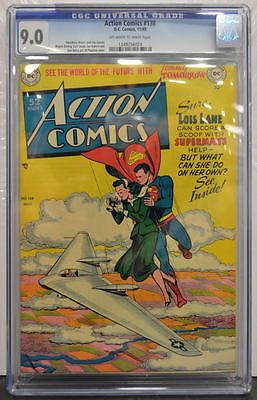 ACTION COMICS 138 CGC 90 Superman 1949 Highest Graded Copy