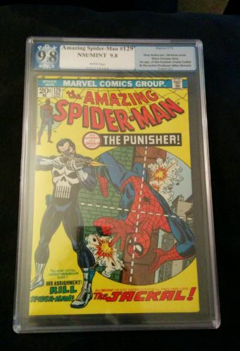 Amazing SpiderMan 129 98 PGX CGC1st Appearance of The Punisher
