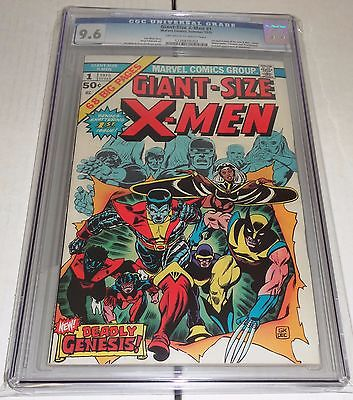 Giant Size XMen 1 CGC 96 1st Appearance New XMen 2nd Full Wolverine OWW