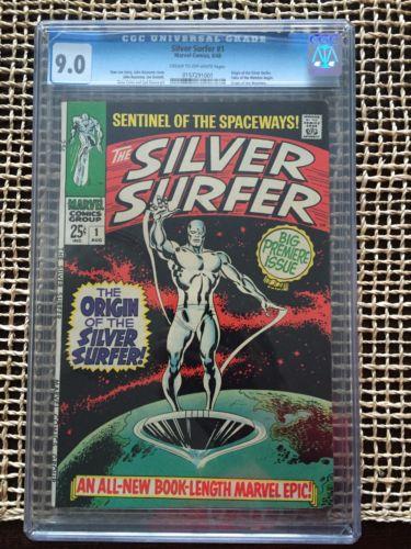 Silver Surfer 1 Cgc 90 1968