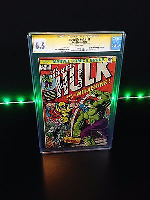 HULK 181 1st APPEARANCE OF WOLVERINE CGC 65 WHITE PAGES 1974