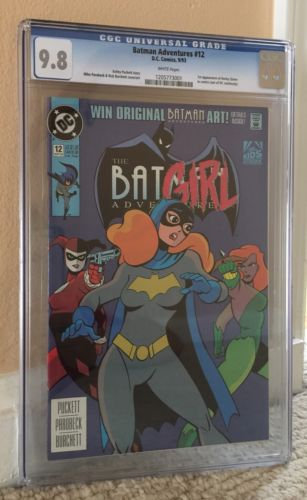 The Batman Adventures 12 Sep 1993 DC CGC 98 White Pages 1st Harley Quinn