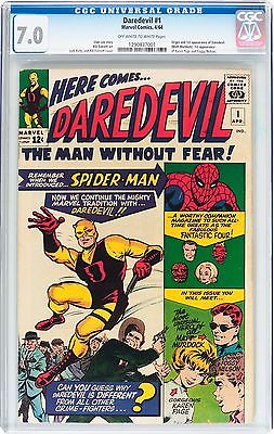 Daredevil  1  cgc  70  oww pages