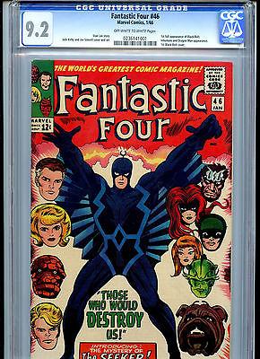 Fantastic Four 46  CGC 92  Marvel 1966 Black Bolt