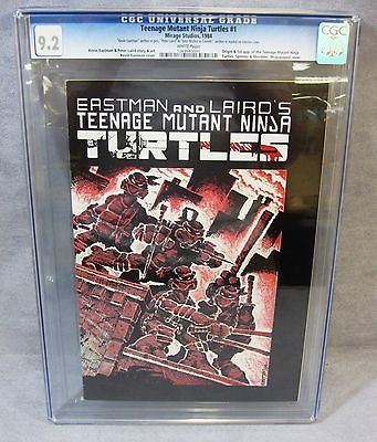 TEENAGE MUTANT NINJA TURTLES 1 First Print CGC 92 Mirage Studios 1984 TMNT
