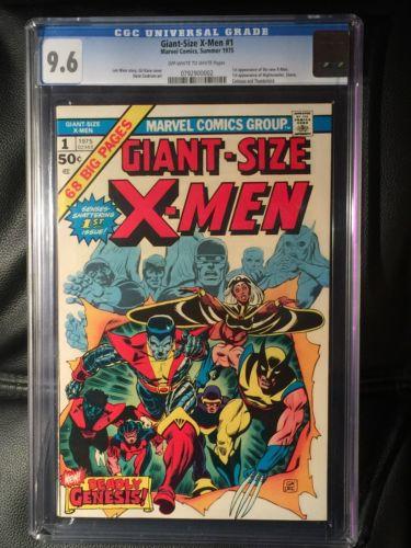 GiantSize XMen 1 CGC 96 1975 Second Full Appearance Of Wolverine