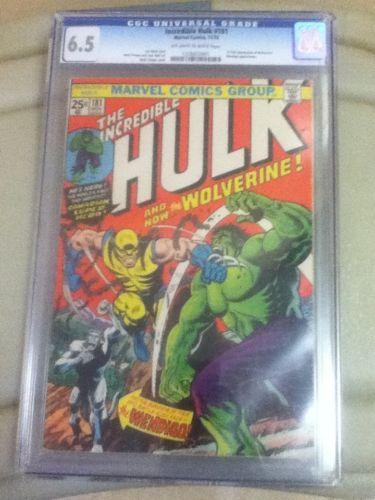 Hulk 181 Cgc First Wolverine