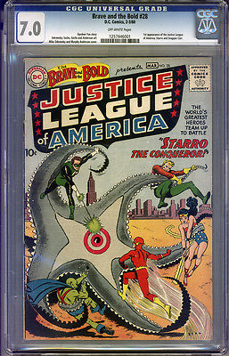 Brave and the Bold 28 CGC 70 FNVF Universal No Reserve