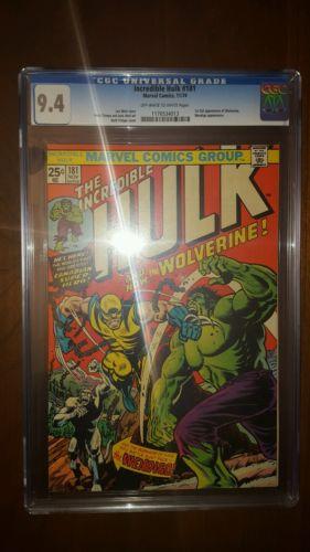 The Incredible Hulk 181 Nov 1974 Marvel CGC 94 NM