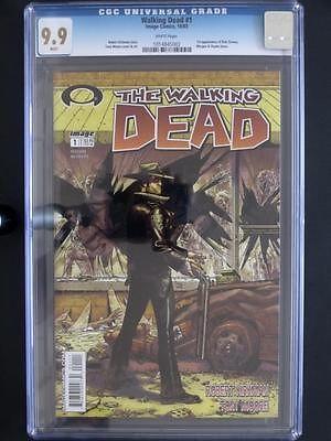 Walking Dead 1 IMAGE 2003 MINT CGC 99 MT  1st App Rick Grimes  Shane Walsh