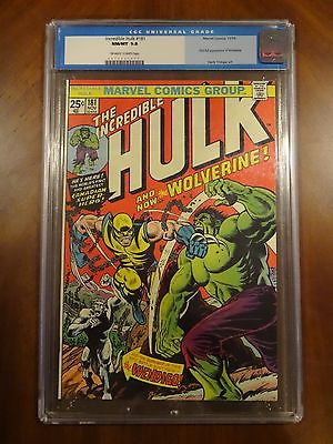 Incredible Hulk 181 CGC 98 NMMT First Full Appearance of Wolverine