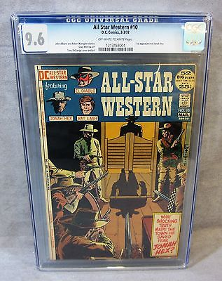 ALL STAR WESTERN 10 Jonah Hex 1st appearance CGC 96 NM DC Comics 1972