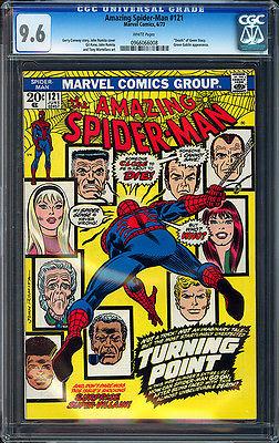 The Amazing SpiderMan 121 1973 Marvel CGC 96