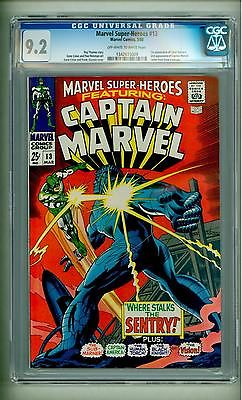 MARVEL SUPER HEROES 13 CGC 92 FIRST CAROL DANVERS 1968