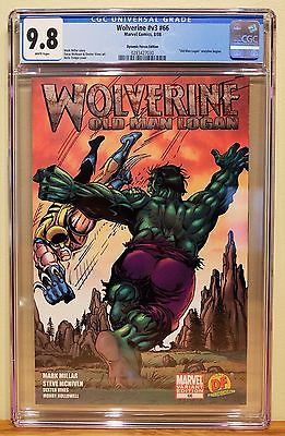 WOLVERINE 66 CGC 98  1st OLD MAN LOGAN  DYNAMIC FORCES VARIANT  HERB TRIMPE
