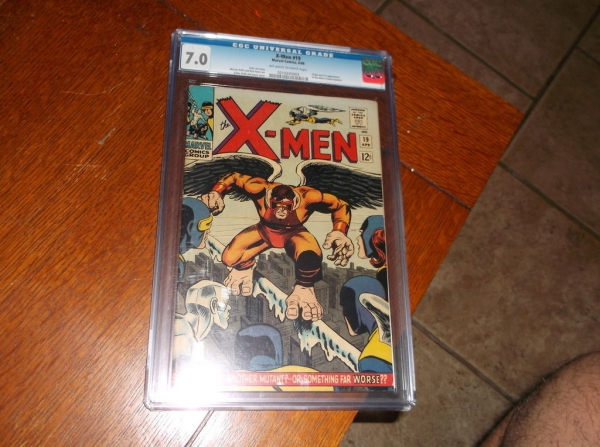 Uncanny XMEN  19 1966 1st appearance Mimic CGC 70 White pages STAN LEE Marvel