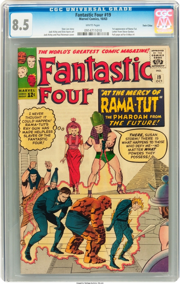 Fantastic Four 19  CGC 85  White Pages Twin Cities Pedigree NO RESERVE