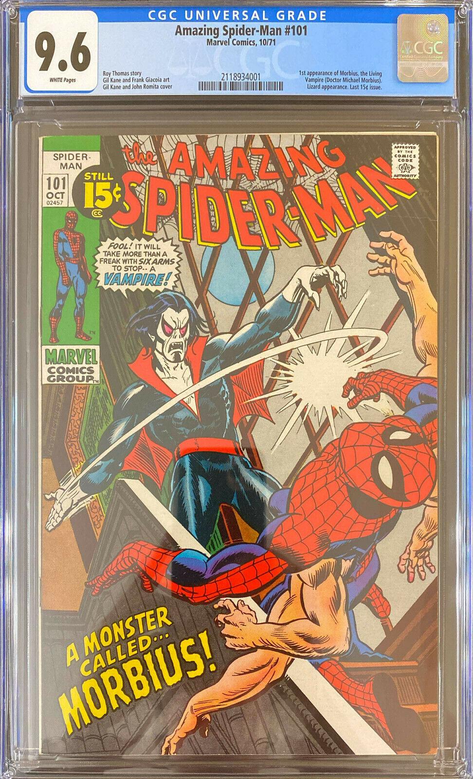 Amazing SpiderMan 101 CGC 96