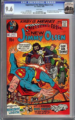 Supermans Pal Jimmy Olsen 133 CGC 96 W ROCKY MOUNTAIN 1st JACK KIRBY 1970 NM