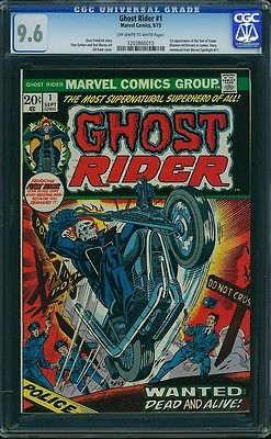 Ghost Rider 1 CGC 96 NM 1st Son of Satan Johnny Blaze 1973 Marvel 1203866010